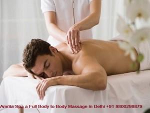 Amrita Spa a Full Body to Body Massage in Delhi