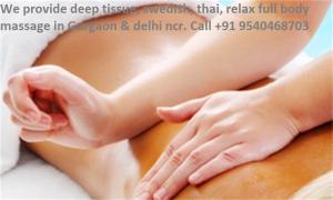 Female to Male Body Massage in Sohna Road Gurgaon