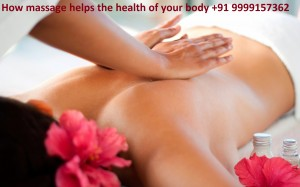 How massage helps the health of your body