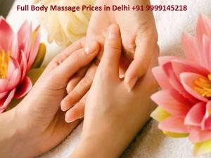 full body massage price in delhi
