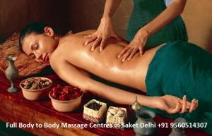 Full Body to Body Massage Centres in Saket Delhi