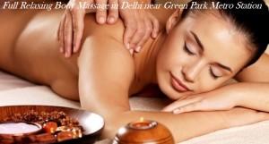 Full Relaxing Body Massage in Delhi Green Park Metro Station